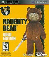 北米版 Naughty Bear GOLD EDITION (国内版本体動作可)