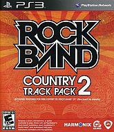 北米版 ROCKBAND COUNTRY TRACK PACK2(国内版本体動作可)