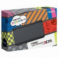 Newニンテンドー3DS本体 ブラック(状態:着せ替えプレート欠品)