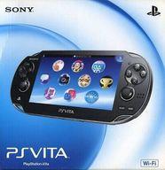 PlayStation Vita本体<<Wi-Fiモデル>>(クリスタル・ブラック)[PCH-1000 ZA01] (状態:本体状態難)