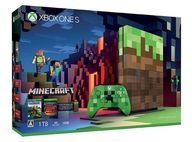 Xbox One S 1TB Minecraft リミテッド エディション(状態:コントローラ欠品)