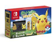 Nintendo Switch本体 ポケットモンスター Let's Go! ピカチュウセット (モンスターボール Plus付き)