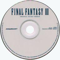 FINAL FANTASY III オリジナル・サウンド・ヴァージョン(状態:歌詞カード状態難)