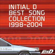 頭文字D BEST SONG COLLECTION 1998-2004[通常盤](状態:ケース状態難)