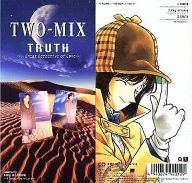 TWO-MIX/TRUTH~A Great Detective of Love~ 「名探偵コナン」OP 裏表紙:TWO-MIX高山みなみ絵