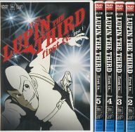 LUPIN THE THIRD first tv.DVD 単品全5巻セット