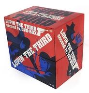 LUPIN THE THIRD second tv.DVD-BOX(状態:DISC13センターホールひび割れ小・DISC19センターホールひび割れ大)