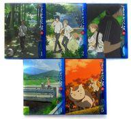 不備有)夏目友人帳 参 BOX付完全生産限定版全5巻セット(状態:ニャンコ先生デコシール欠品)