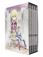 不備有)OVA HUNTER×HUNTER ハンター×ハンター BOX付初回生産版全4巻セット(状態:ブックファイル欠品、BOXに汚れ有り)
