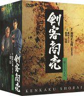 不備有)剣客商売 第2シリーズ DVD-BOX(状態:DISC1にセンターホール割れ大有り)