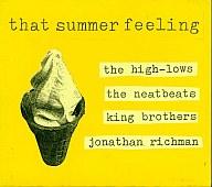 ザ・ハイロウズ・that summer feeling (ユニバーサルミュージック)