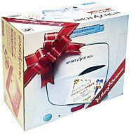 セガサターン本体+クリスマスナイツ冬季限定版 (白)(状態:箱(内箱含む)状態難)