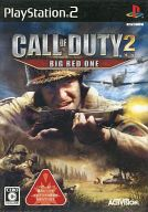 Call of Duty 2 Big Red One(状態:説明書欠品)