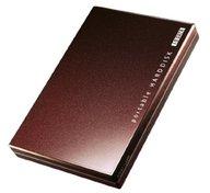 外付けポータブルハードディスク「カクうす」320GB (ビターブラウン) [HDPC-U320BR]