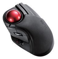 8ボタン搭載 ワイヤレストラックボール (人差し指・中指操作タイプ) [M-HT1DRBK]