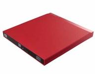 USB3.0ポータブルDVDドライブ (レッド) [LDR-PUB8U3LRD]