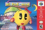 北米版 MS. PAC-MAN MAZE MADNESS (国内版本体不可)