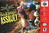 北米版 WCW BACKSTAGE ASSAULT (国内版本体不可)