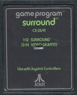 SURROUND (包囲作戦)(状態:ROMカセットのみ、ROMカセット状態難)