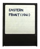 EASTERN FRONT (1941) [北米版] (状態:箱・説明書欠品/タイトルラベル欠損※手書入力有)