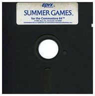Summer Games [海外版](状態:5インチFDディスクのみ、ディスクにキズ有り)