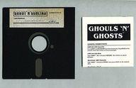 Ghosts'n Goblins [海外版](状態:ゲームディスク + 説明書のみ)