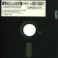 COMMANDO/AIRWOLF [海外版](状態:ゲームディスクのみ)