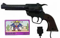ワイルドガンマン 光線銃セット(状態:ホルスター欠品、ROMカセット・光線銃状態難)