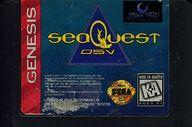 GENISIS(北米)版 seaQuest DSV(状態:ROMカセットのみ、ROMカセット状態難)
