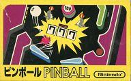 ピンボール (状態:箱・カセット状態難) (箱説あり)