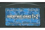 ゲームボーイウォーズアドバンス 1+2 (状態:箱・説明書欠品/カセット状態難)