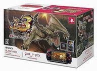 PSP本体 ブラック・レッド「新米ハンターズパック」