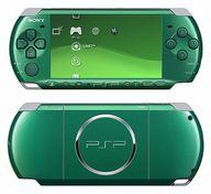PSP本体 スピリティッド・グリーン(PSP-3000SG)(状態:バッテリー欠品)
