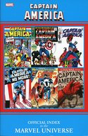 Captain America OFFICIAL INDEX [洋書]