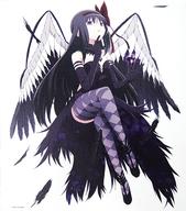 劇場版 魔法少女まどか☆マギカ[新編]叛逆の物語キャンバスアート 「悪魔ほむら」