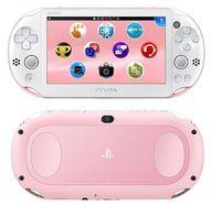 PlayStaiton Vita本体 Wi-Fiモデル ライトピンク・ホワイト[PCH-2000](本体単品/付属品無) (箱説なし)