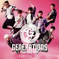 GENERATIONS from EXILE TRIBE / Love You More[DVD付]
