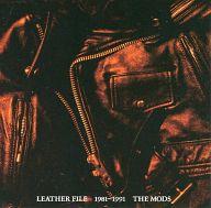 THE MODS / LEATHER FILE 1981-1991(状態:特殊ケース状態難)