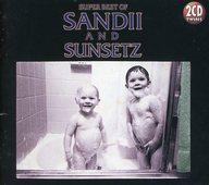 サンディー&サンセッツ / TWINS SUPER BEST OF SANDII & THE SUNSETZ(廃盤)(状態:特殊ケース・スリーブ欠品)