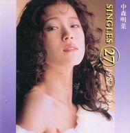 中森明菜 / SINGLES (27) 1982~1991(状態:歌詞リーフレット・ライナーノーツ欠品)