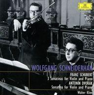 ヴォルフガング・シュナイダーハン ヴァルター・クリーン / シュナイダーハンの芸術1200:シューベルト、ドヴォルザーク:ヴァイオリンとピアノのためのソナチネ