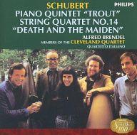 ブレンデル(アルフレッド) / シューベルト:ピアノ五重奏曲イ長調 D.667<<ます>>