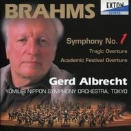 アルブレヒト指揮/ブラームス:交響曲第1番 悲劇的序曲