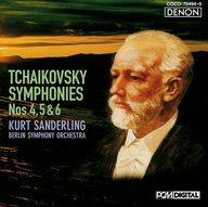 ザンデルリンク(クルト) / チャイコフスキー:後期3大交響曲(限定盤)