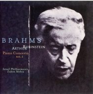 アルトゥール・ルービンシュ/ブラームス:ピアノ協奏曲第1