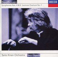 小澤征爾 / ベートーヴェン:交響曲第4番、第8番