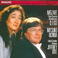 内田光子/モーツァルト:ピアノ協奏曲第11番、第12番