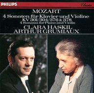 グリュミオー&ハスキル/モーツァルト:ヴァイオリン・ソナタ第25、28、32、34番