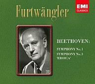 ヴィルヘルム・フルトヴェングラー/ベートーヴェン: 交響曲 第1番&第3番 英雄[限定版]