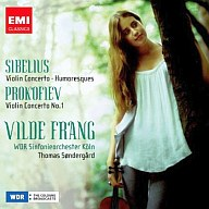 ヴィルデ・フラング/プロコフィエフ&シベリウス:バイオリン・コンサート